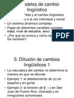Curso de sociolinguistica- Sesiones Teoricas - Temas 5 y 6
