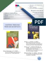 Catalogo Tecnicas de Estudio