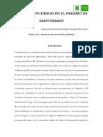 Mineria en Santurbán