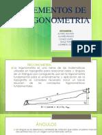 Elementos de Trigonometria Diapositivas