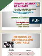 94309110 Metodos de Depreciacion Contable