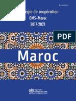 Stratégie de Coopération OMS_Maroc 2017_2021