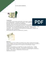 La carta tradicional y la carta moderna.docx