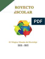 Proyecto Reciclaje Casas de Carton