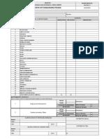 Formato - Reg-pro-ssoma-011 Rev 2 Check List de Equipos Pesados