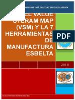 Value Stream Map y Las Siete Herramientas de Manufactura Esbelta