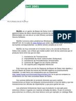MySQL e Visual Foxpro