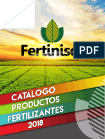 Catalogo Productos Fertilizantes Fertinisol