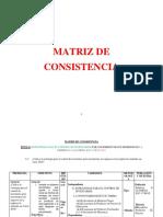 Matriz de Consistencia Contabilidad