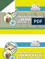 Participacion Ciudadana en Democracia Espacios y Mecanismos