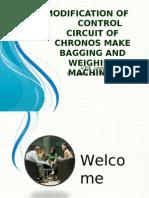Modification of Control Circuit of Chronos Make Bagging