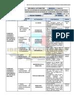 Cronograma de Contenidos Sistema de Suspension%2c Direccion y Frenos Revisado