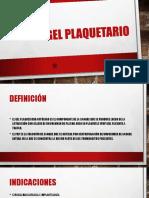 Gel Plaquetario