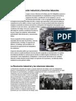 La Revolución Industrial y Derechos Laborales