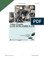 Los Sonambulos - Arthur Koestler