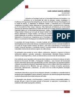 Síntesis CV - Juan Carlos García Jiménez - CESAM