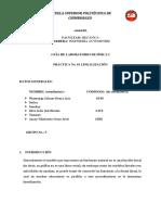 Práctica 1 (Linealización)