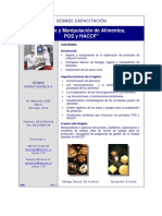 Higiene y Manipulación de Alimentos, POS y HACCP (a-09)-R3