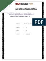 Trabajo Academico Desarrollo Psicologico III- Patsy