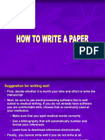 How to Write&Present Paper 07