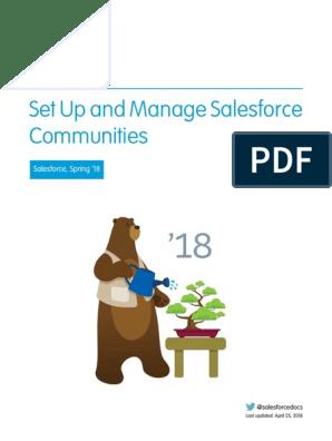 Salesforce Communities | Salesforce Com | Safari (Web Browser)