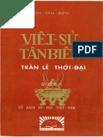 Nhà Trần - Trích Việt Sử Tân Biên - Quyển 2 - Trần Lê Thời Đại - Phạm Văn Sơn (1958)
