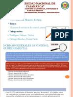 Auditoria Gubernamental Grupo 5 Normas de Servicio Previo