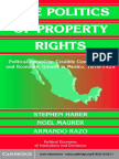 Haber Maurer-The Politics of Property Rights_ Political Instability, Credible Commitments, And Economic Growth in Mexico, 1876-1929