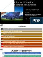 Semana 5 - Energía Solar