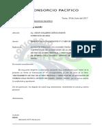 Carta Valorizacion