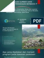 Pengelolaan Sumber Daya Kawasan Perdesaan Berbasis IT.pptx