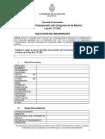 Formulario Postulacio¿n Cargos Ley 27.343