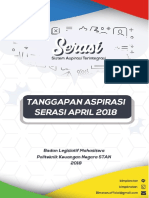 Tanggapan Aspirasi Serasi April 2018