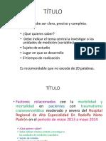 Titulo de protocolo de investigación