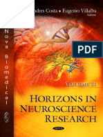 Horizons in Neuroscience Research, Volume 24