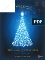 Web100 the Park Hotel Xmas Brochure 2018