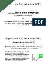 Supercritical Fluid Extraction 1