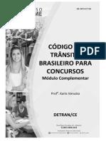 Legislação de Trânsito - Módulo Complementar