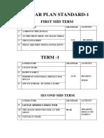 Year Plan Standard English 2018