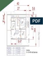 Vaastu Plan- First Floor Layout1