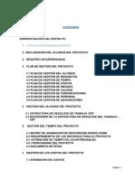 Acta Del Proyecto,Planes Edt