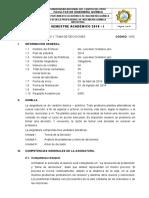Silabo Iqi Analisis y Td 103 C-2018 i (Analisis y Toma de Desiciones) Lol - Escan