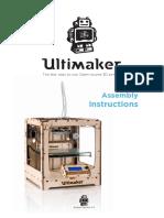 Ultimaker Original+ Assembly Instructions v2