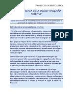 Mercadotecnia de La Micro y Pequeña Empresa