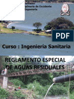 Clase 17 Reglamento Aguas Residuales El Salvador