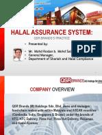 KFC halal assurance system (HAS)