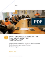 LPSDP Community Health and Safety Handbook Indonesian