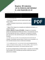 Héctor Espino Datos