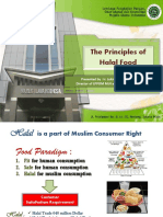 The Principles of Halal Food MUI Food and Beverages - Hendra Utama