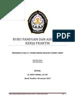 Buku Panduan Dan Asistensi Kerja Praktik